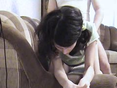 Кокетка 18-ти лет Инга соблазнила и трахнула своего бойфренда