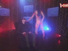 Фантастический приватный стриптиз танец от русской красавицы