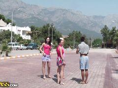 Русские туристы в Турции тайком занимаются сексом на природе