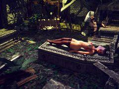 Чародейка соглашается на ритуальный секс с футанари