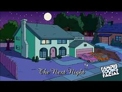 Гомер и Мардж Симпсоны занялись супружеским сексом в спальне